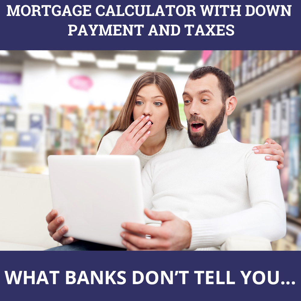 Mortgage Calculator With Down Payment And Taxes