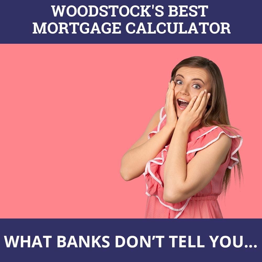 Mortgage Calculator Woodstock ON