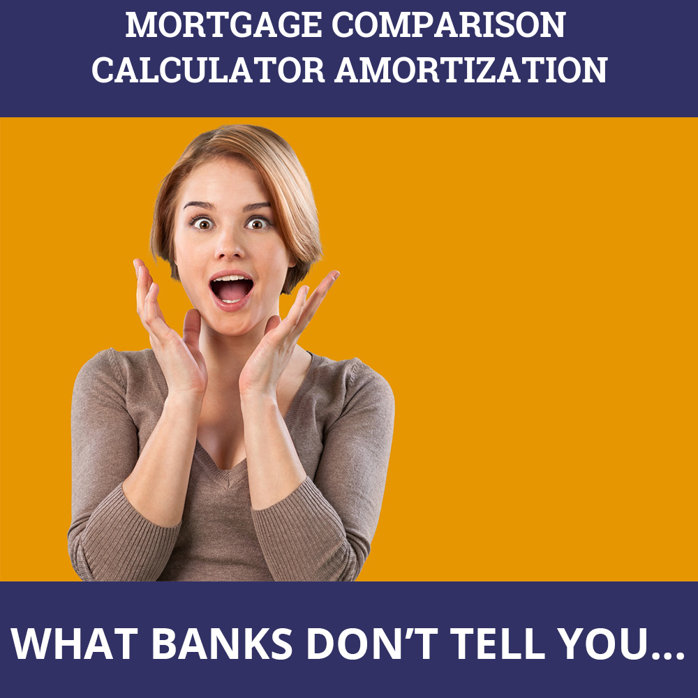 Mortgage Comparison Calculator Amortization