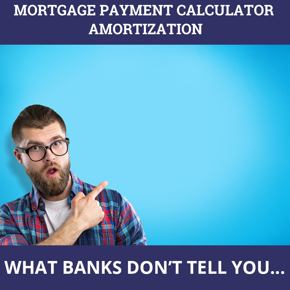 Mortgage Payment Calculator Amortization