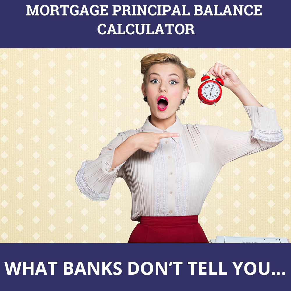 Mortgage Principal Balance Calculator