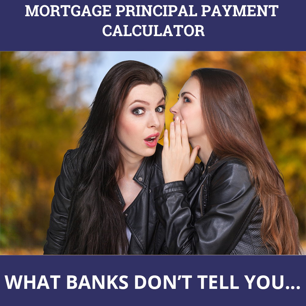 Mortgage Principal Payment Calculator