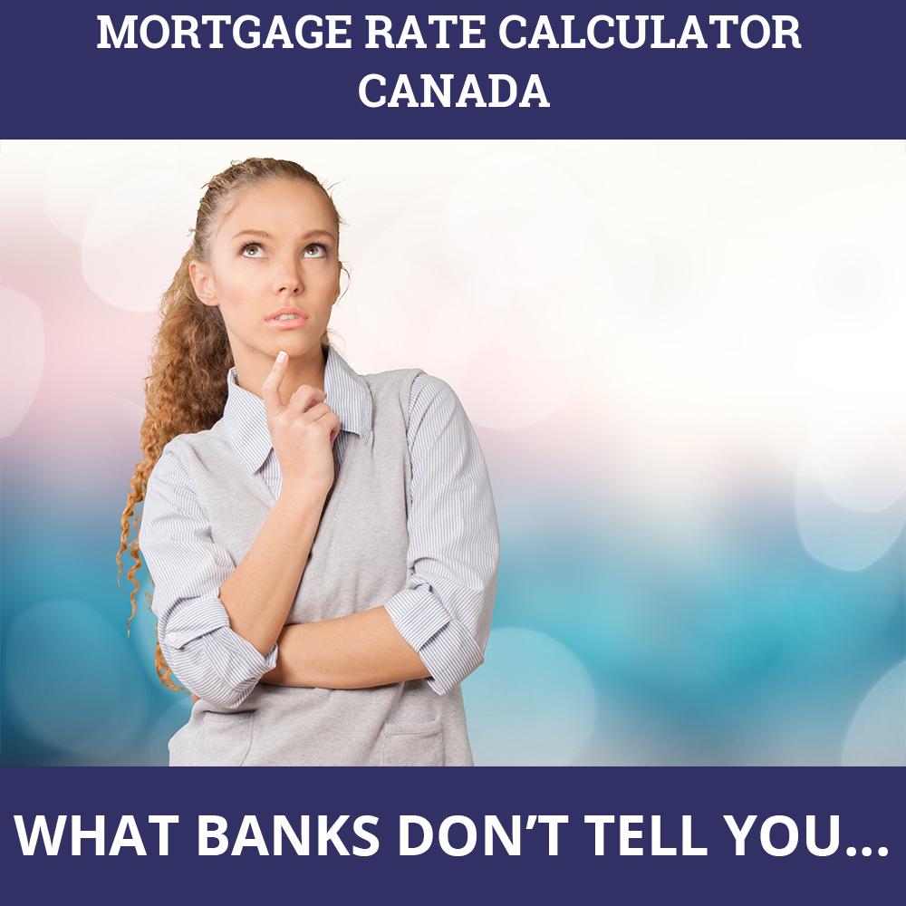 Mortgage Rate Calculator Canada
