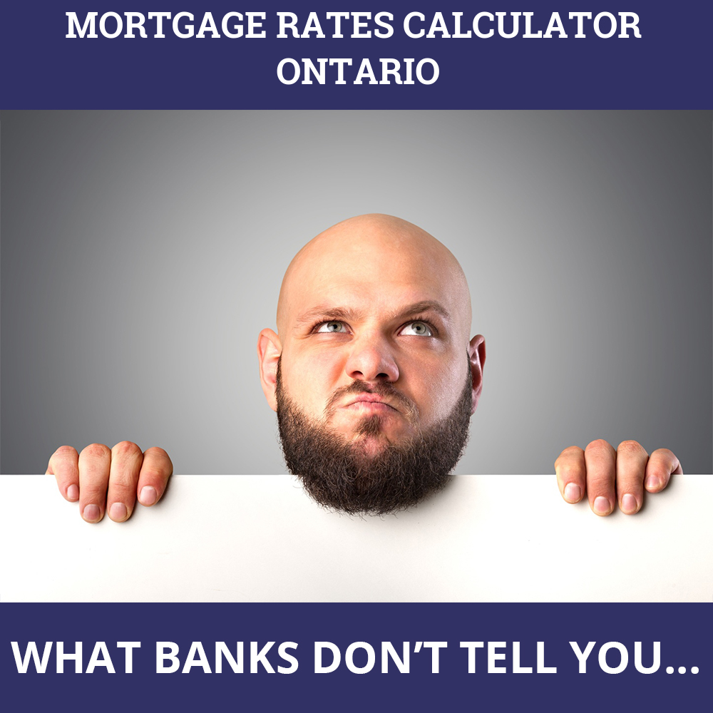 Mortgage Rates Calculator Ontario