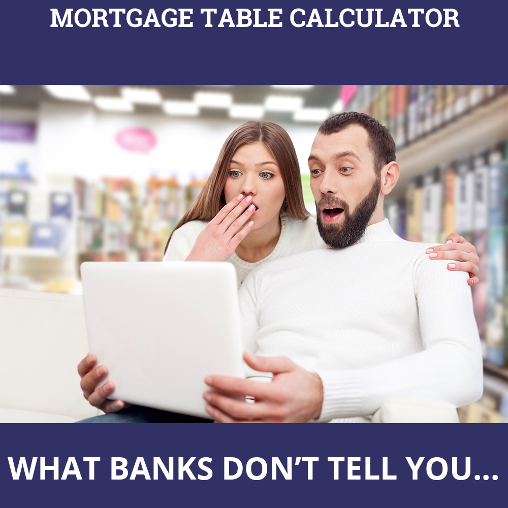 Mortgage Table Calculator