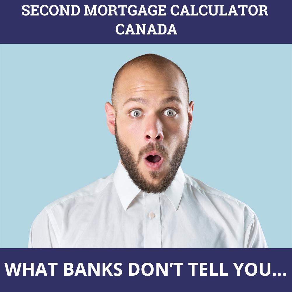 Second Mortgage Calculator Canada