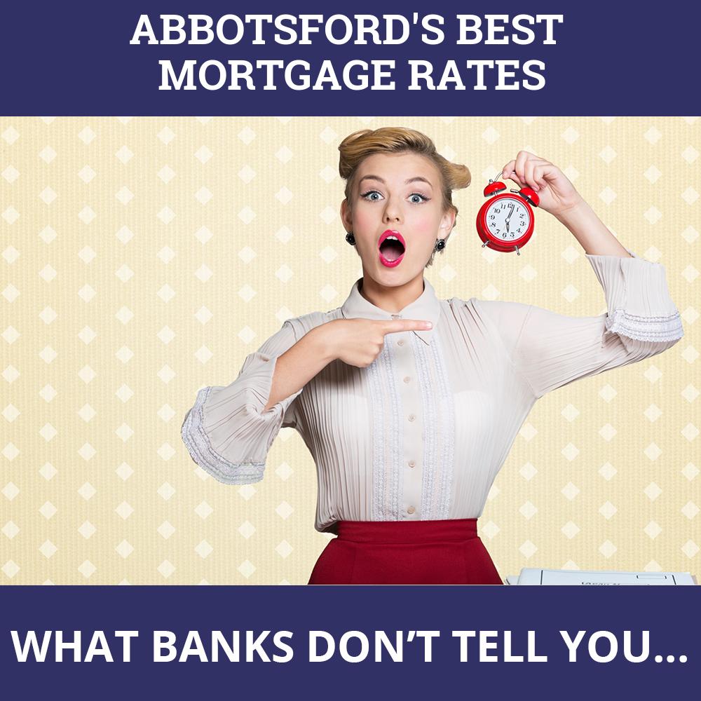 Mortgage Rates Abbotsford BC