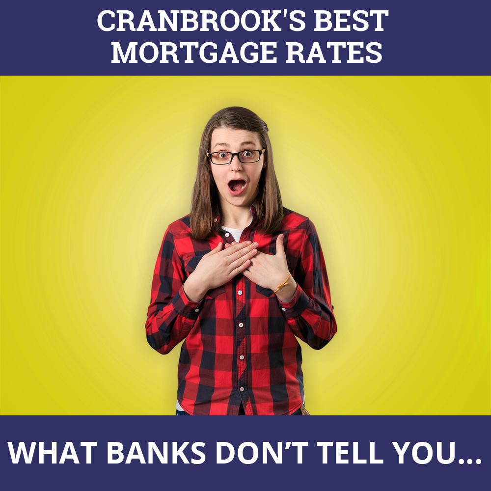 Mortgage Rates Cranbrook BC