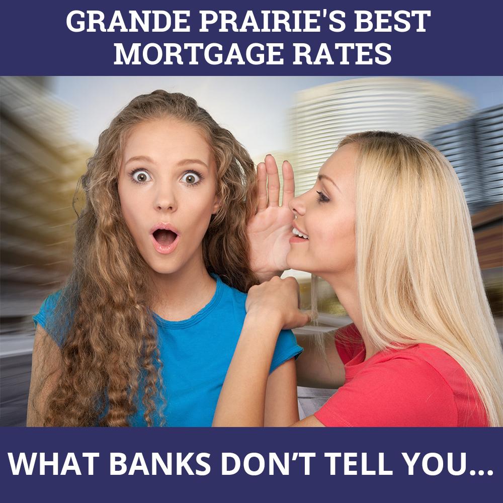 Mortgage Rates Grande Prairie AB