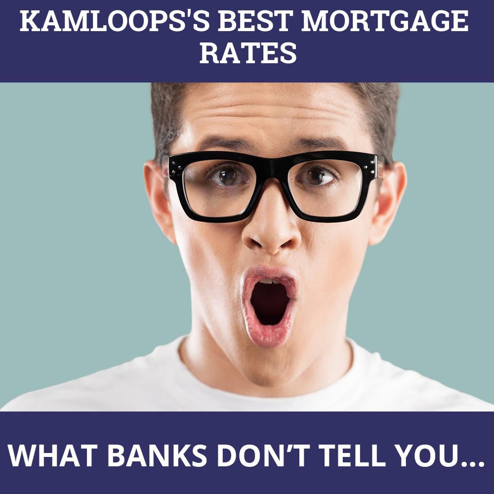 Mortgage Rates Kamloops BC