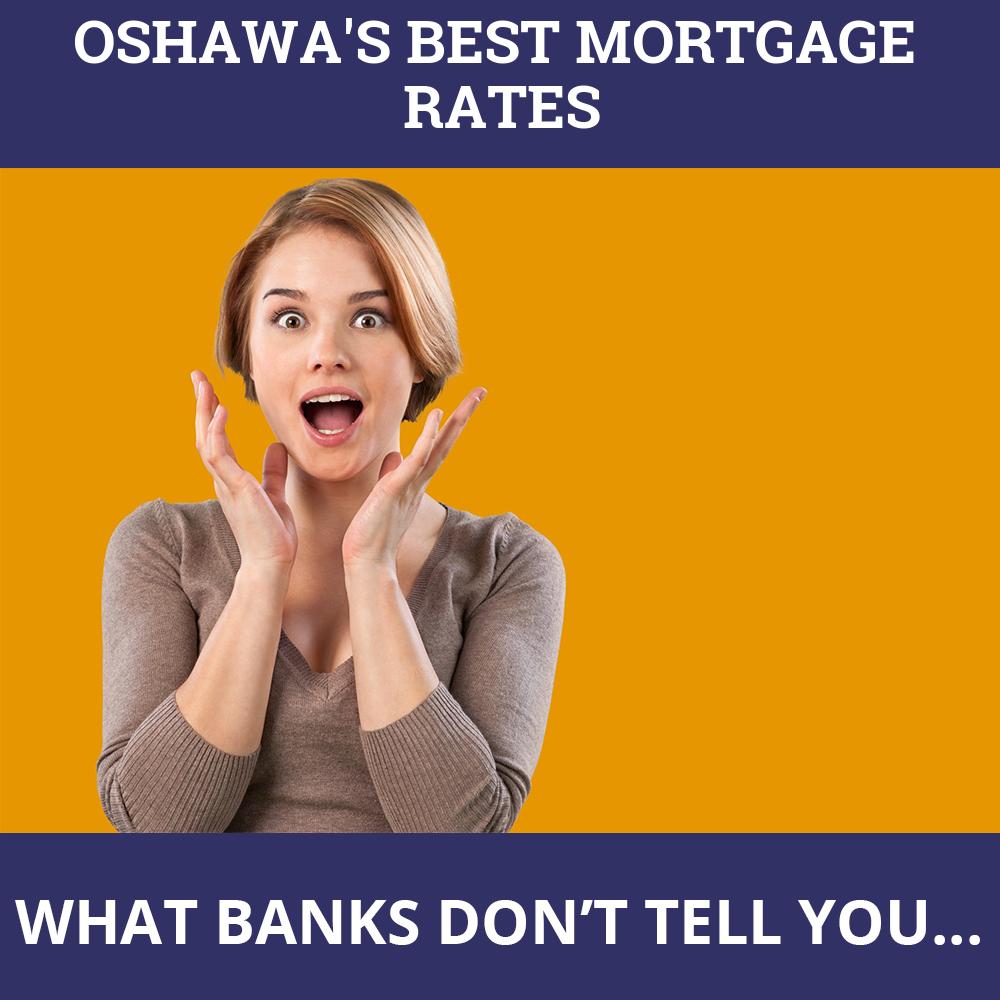 Mortgage Rates Oshawa ON