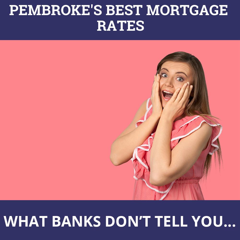 Mortgage Rates Pembroke ON