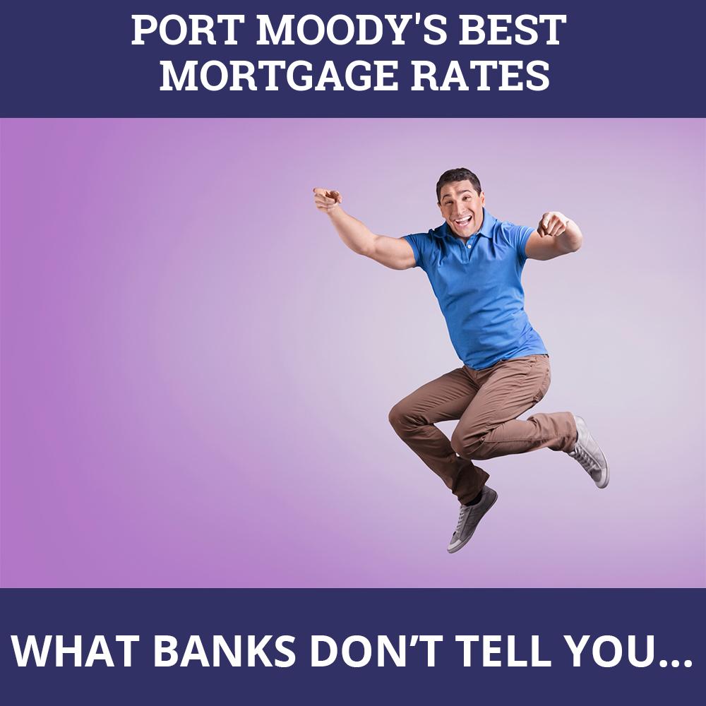 Mortgage Rates Port Moody BC