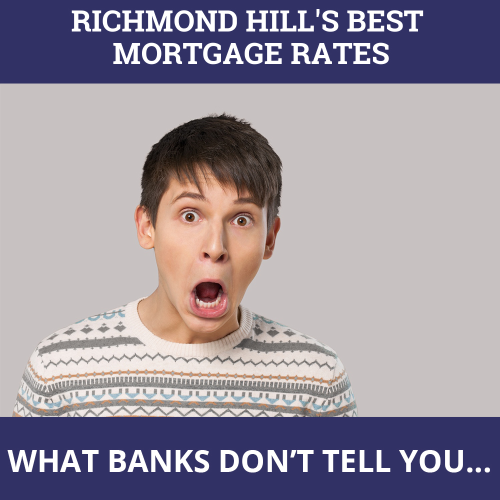 Mortgage Rates Richmond Hill ON