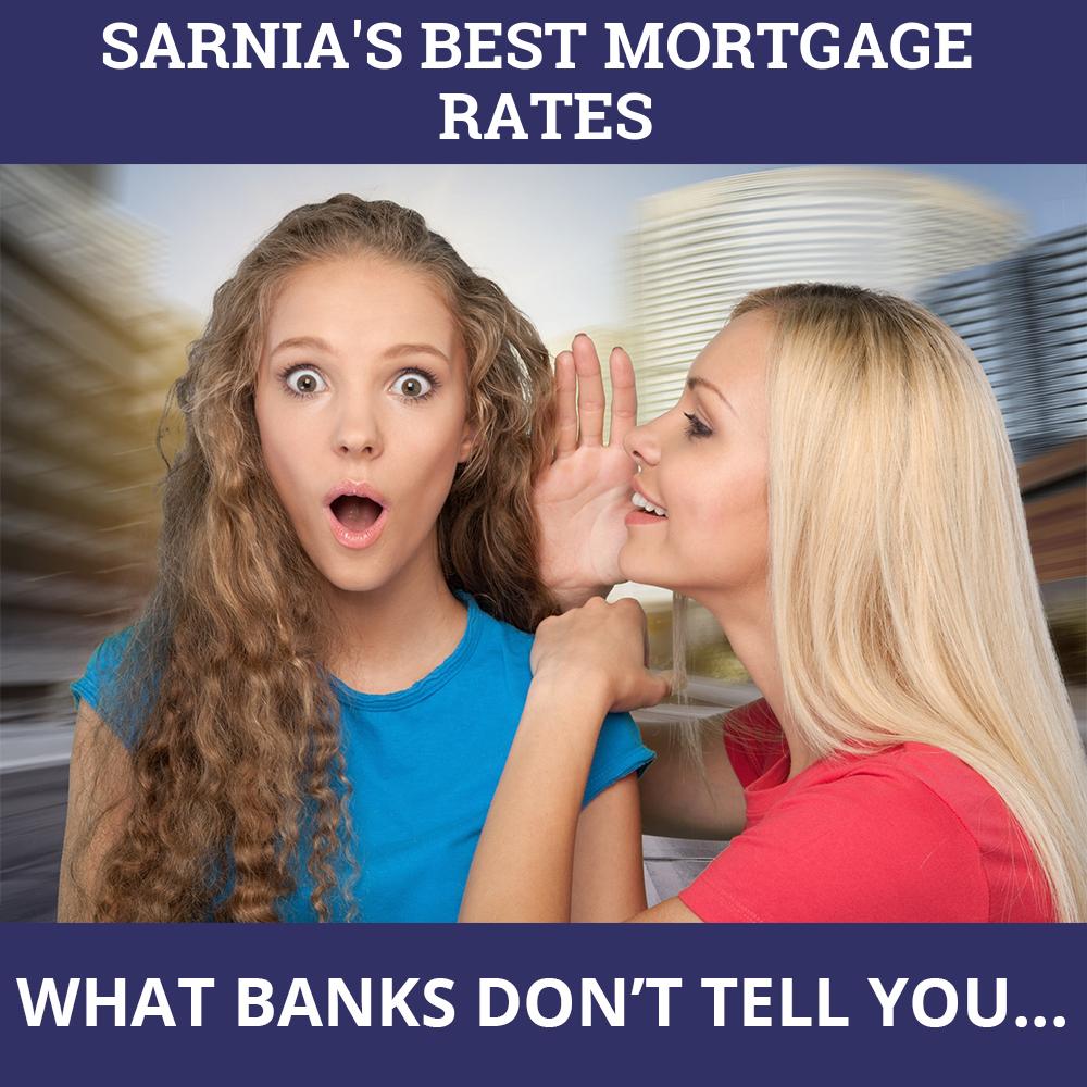 Mortgage Rates Sarnia ON