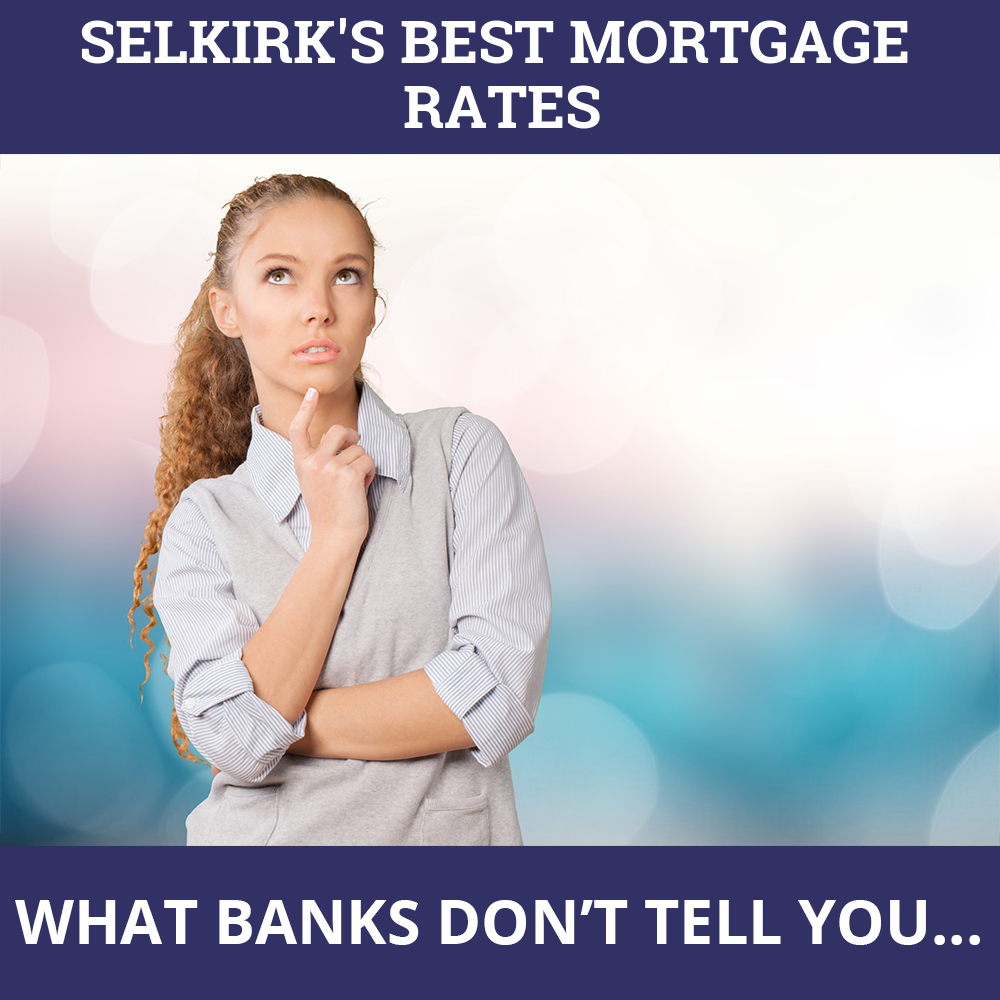 Mortgage Rates Selkirk MB