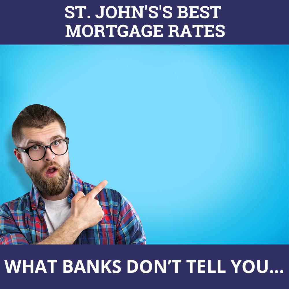 Mortgage Rates St. John's NL