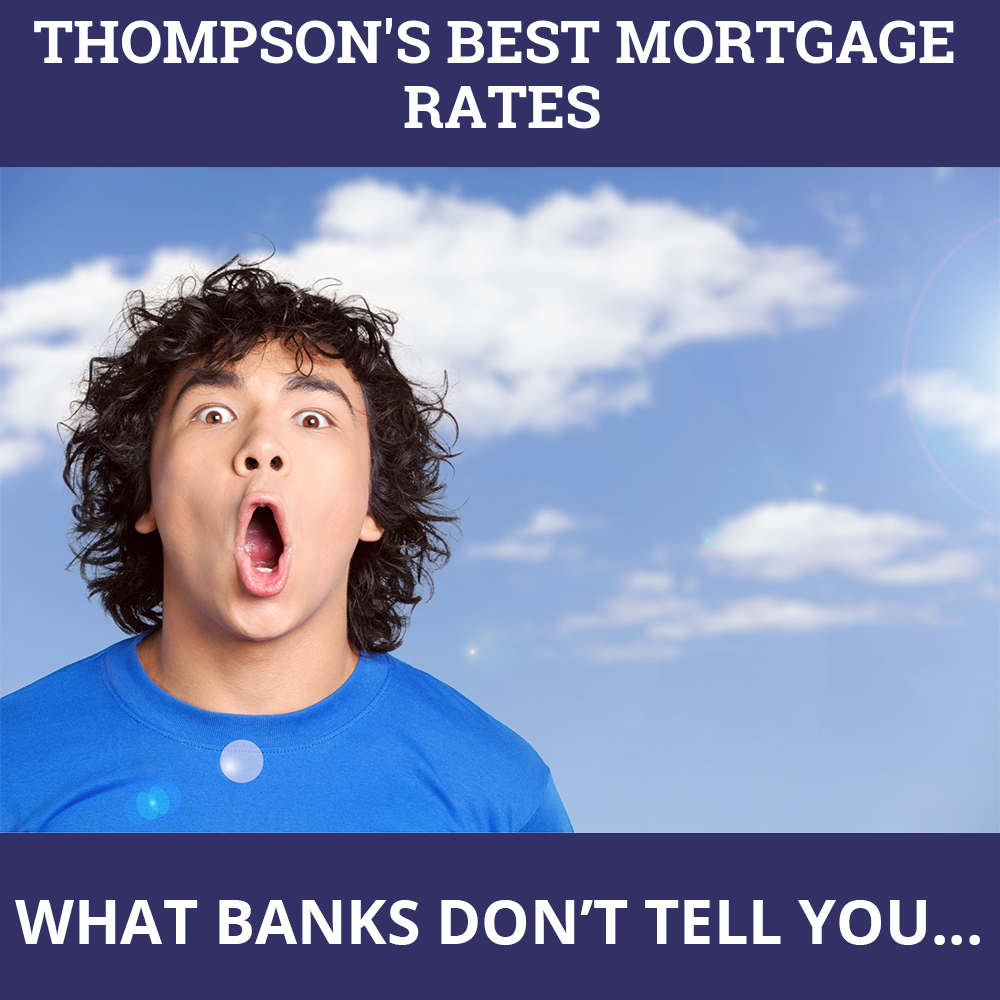 Mortgage Rates Thompson MB