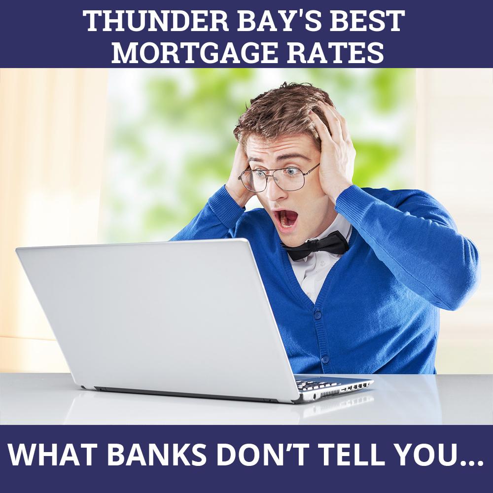 Mortgage Rates Thunder Bay ON