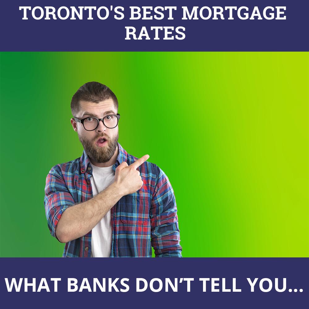Mortgage Rates Toronto ON