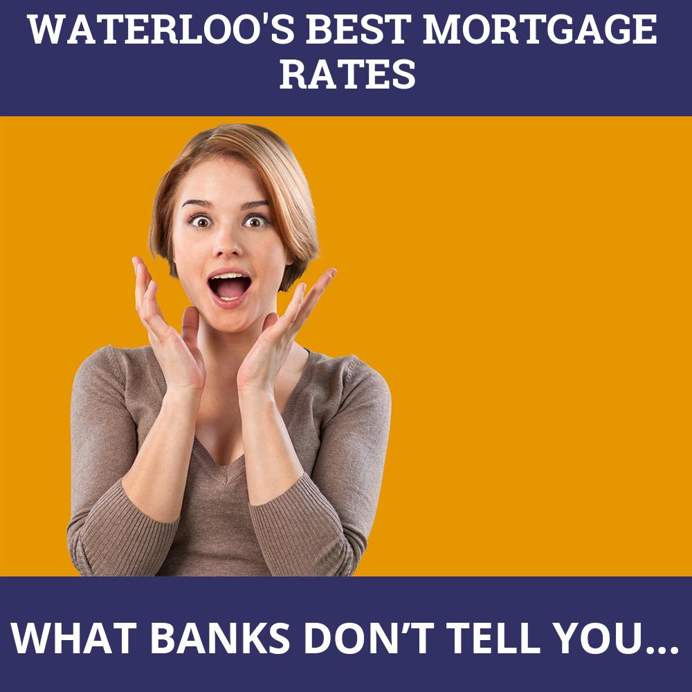 Mortgage Rates Waterloo ON