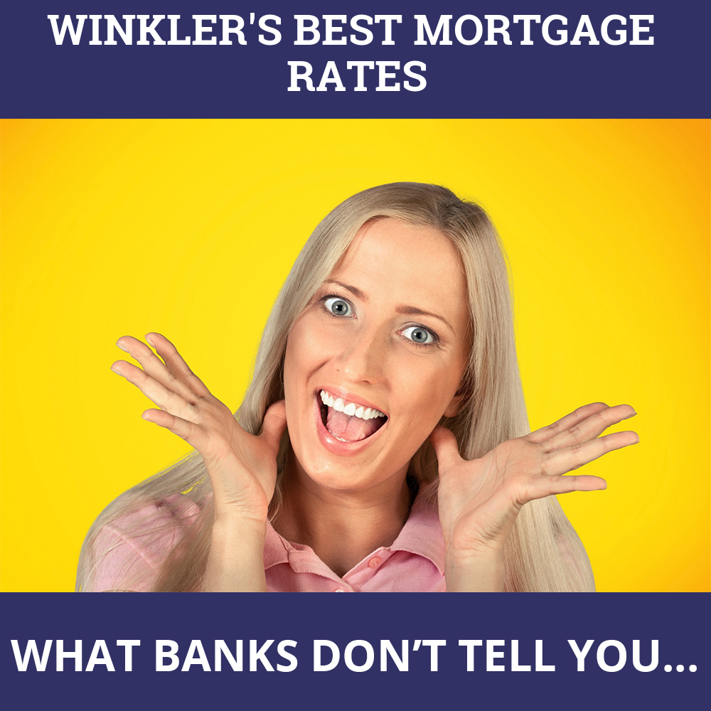 Mortgage Rates Winkler MB