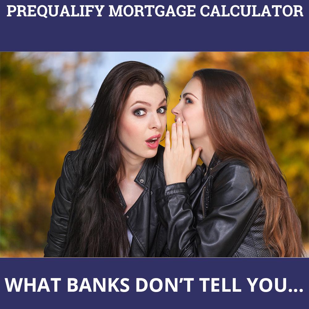prequalify mortgage calculator